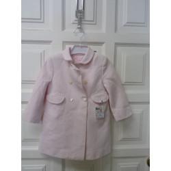 Abrigo Dulces rosa talla...