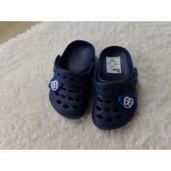 Crocs azul N 20. Segunda mano
