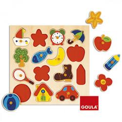 Puzzle Goula Silueta