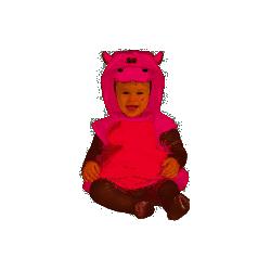 Disfraz bebe hipopótamo...