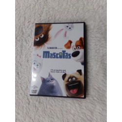 DVD Mascotas. Segunda mano