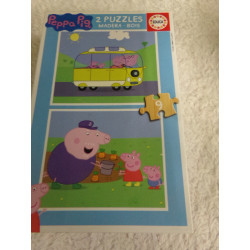 2 Puzzles de Peppa Pig....
