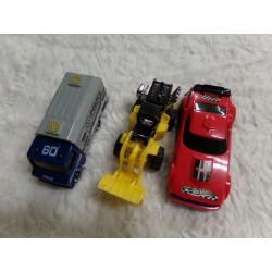 3 coches