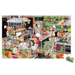 Puzzle Chef 100 piezas....
