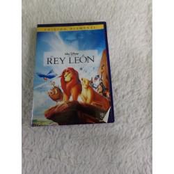 DVD El rey león. Segunda mano