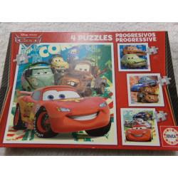 4 Puzzles de Cars. Segunda...