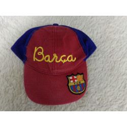 Gorra Barça talla 3 años....
