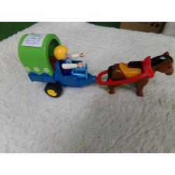 Carruaje de Playmobil....