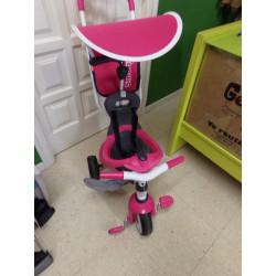 Triciclo Smoby rosa....