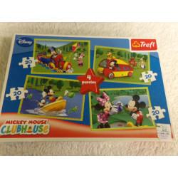 4 Puzzles de Mickey....