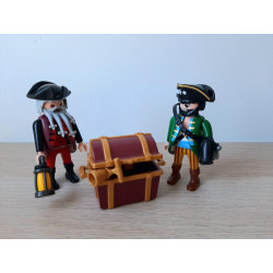 Dos piratas Playmobil....