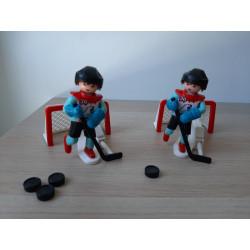 2 Jugadores de Playmobil de...