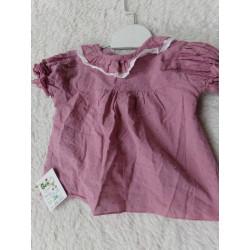 Blusa rosa talla 6 meses....