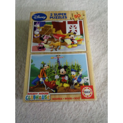 2 Puzzle de Mickey Mouse....