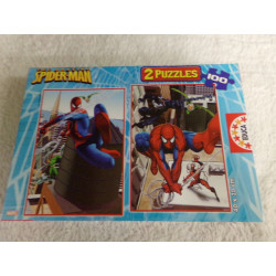 2 Puzzles Spiderman. 200...