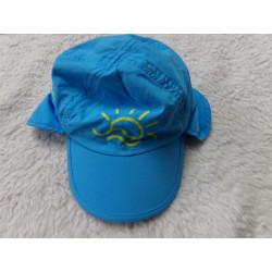 Gorra azul talla 6-12...