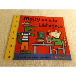 Maisy va a la biblioteca....