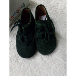 Zapato verde N24. Segunda mano