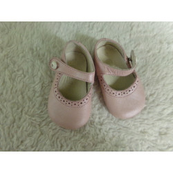 Zapato rosa n 17. Segunda mano