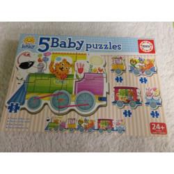 5 Baby Puzzles. Segunda mano
