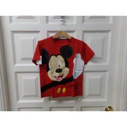 Camiseta Mickey talla 6...