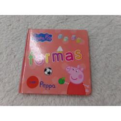 Libro formas de Peppa Pig....