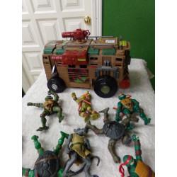 camion tortugas ninja