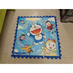 puzzle alfombra Doraemon