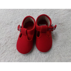 Zapatillas rojas N 22....