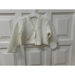 chaqueta blanca talla 12...