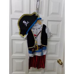 Disfraz pirata talla 2-3...