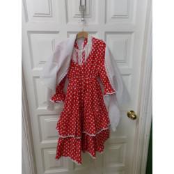 Vestido Flamenca talla 6-8...