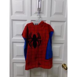 Toalla poncho spiderman....