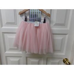 Falda tul rosa Zara talla...