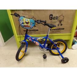 "Bicicleta Bob Esponja 14""...."