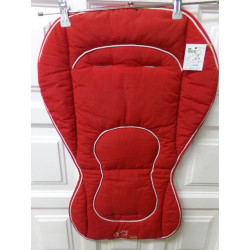 Funda de silla Jané roja....