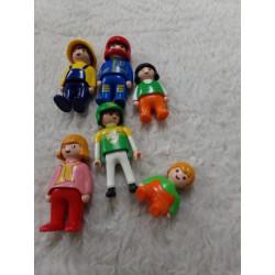6 Figuras de Playmobil....