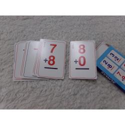 Juego de cartas. Sumas....