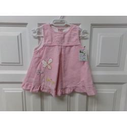 Vestido de pana rosa talla...
