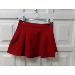 Falda Mayoral roja talla 5...