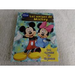 Los amigos de Mickey....