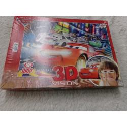 Puzzle de cars. 104 piezas....