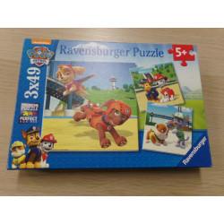 3 Puzzles Patrulla Canina...