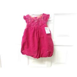 Vestido rosa talla 12...