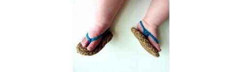 Zapatillas de goma y chanclas