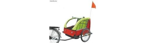Sillas y Remolques para bici